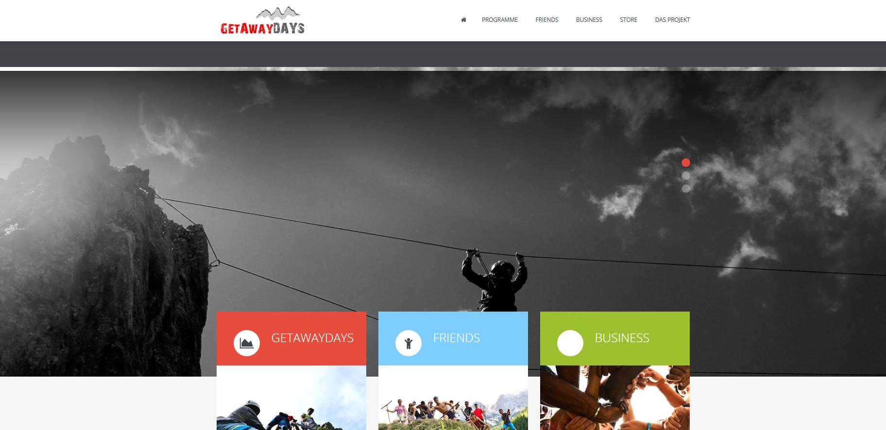 GetAwayDays I Ein Meilenstein für junge Menschen in herausfordernden Lebenssituationen - getawaydays_org