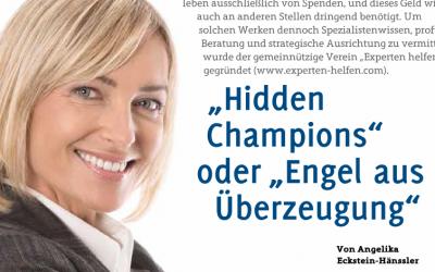 """""""Hidden Champion"""" oder """"Engel aus Überzeugung"""""""